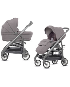 2 в 1 Trilogy System Duo City Slate sideral grey