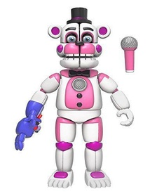 Фредди Веселый (14 см) - Funko Five Nights at Freddy's Funtime Freddy Articulated Action Figure, 5""